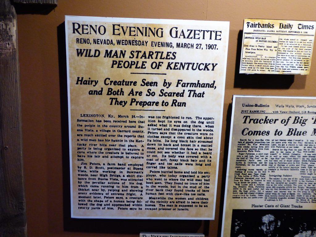 Sasquatch Outpost Newspaper