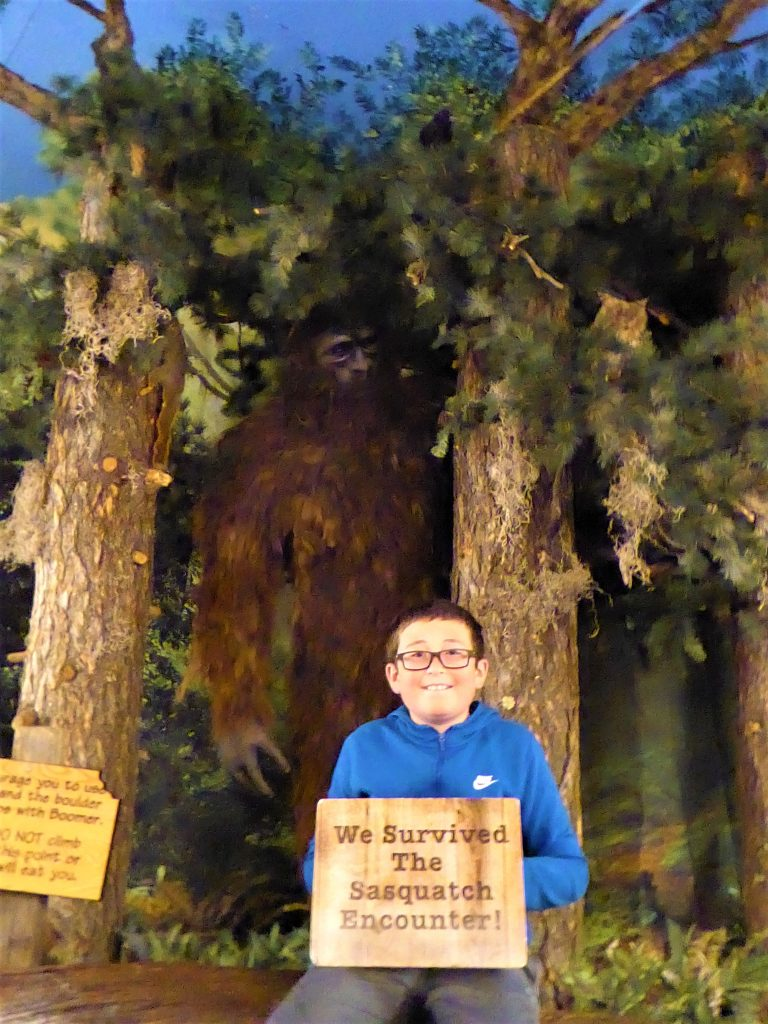 Sasquatch Outpost Visitor