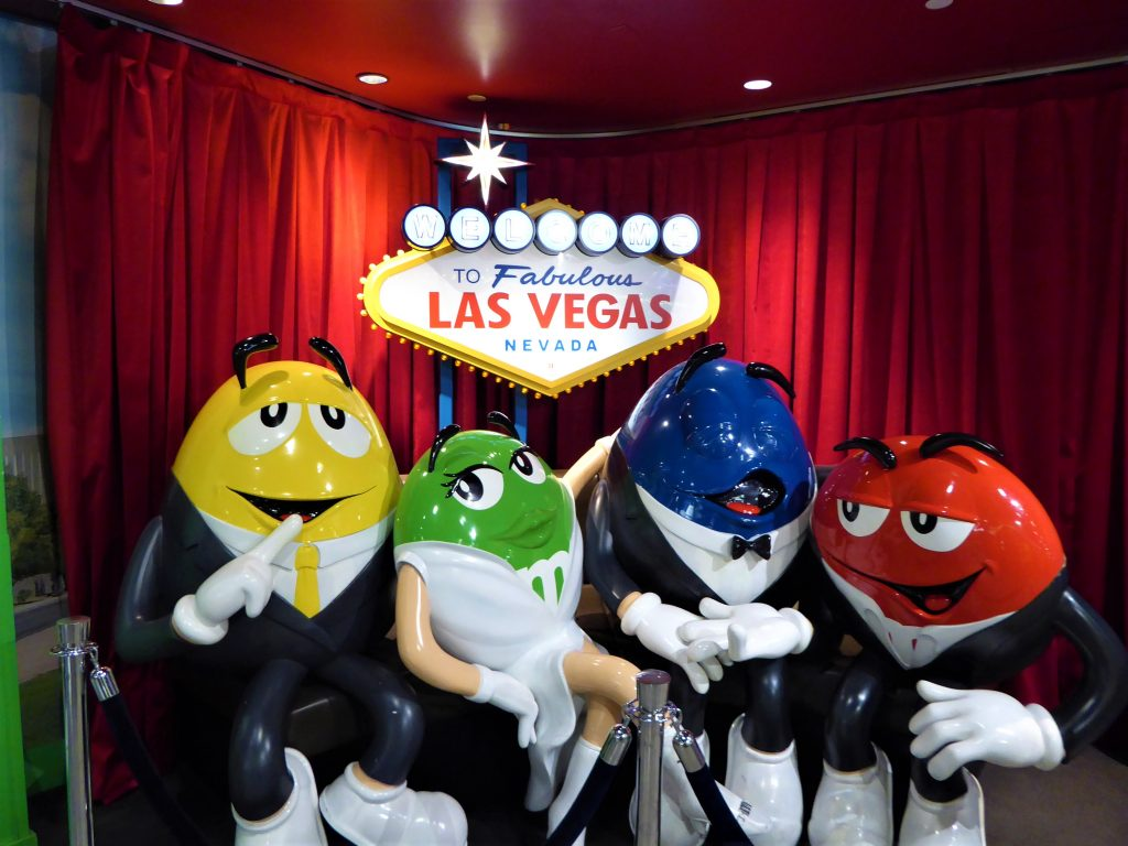 M&M World Family Friendly Las Vegas