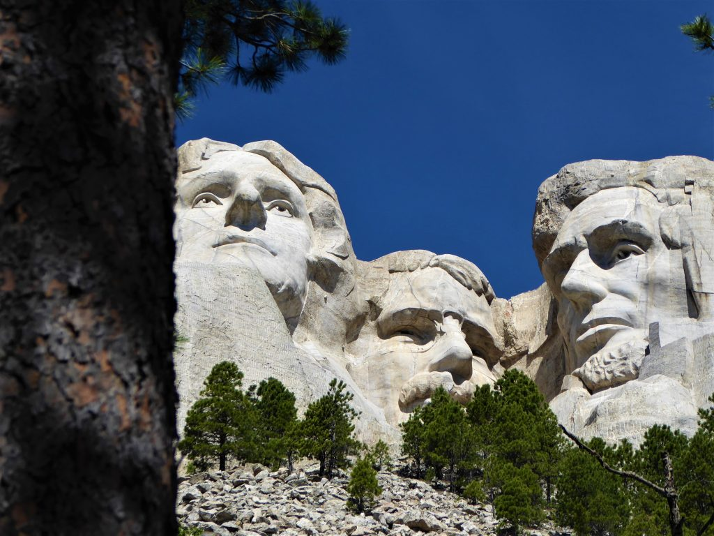 Jefferson, Roosevelt, and Lincoln.