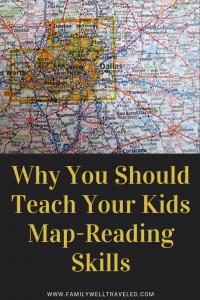 Teaching Kids Map-Reading Skills
