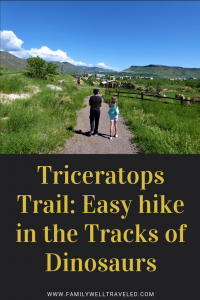 Triceratops Trail in Golden, Colorado, USA
