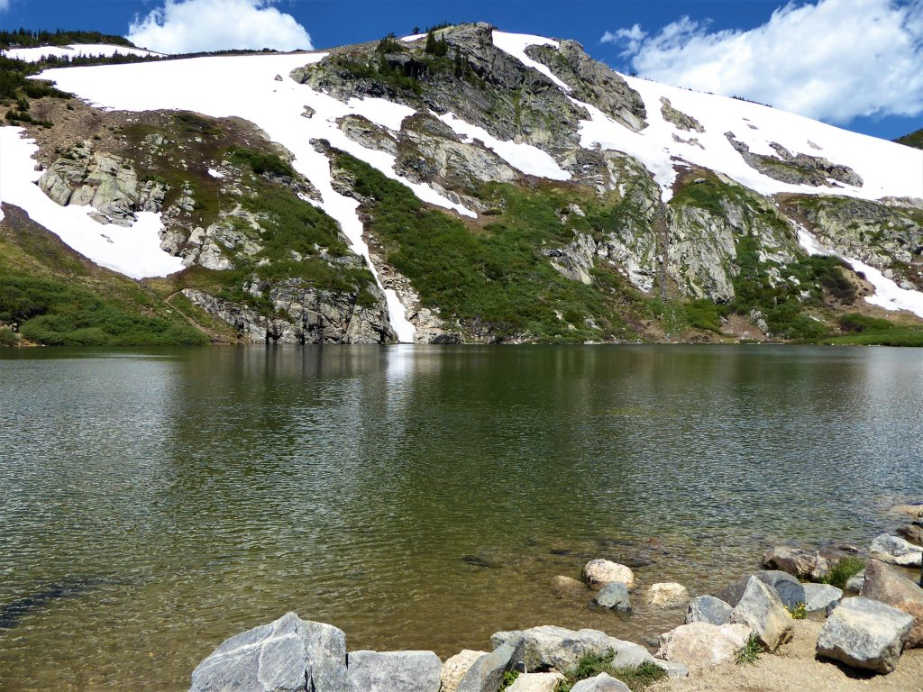 St. Mary's Glacier and Lake