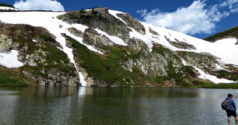 St. Mary's Glacier Hike in Colorado