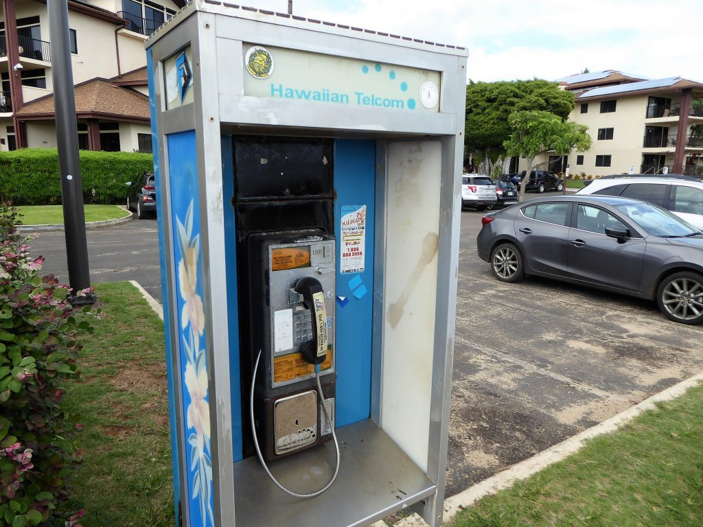 Kauai Payphone