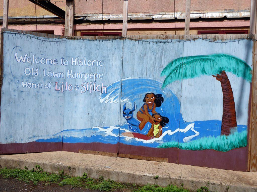 Lilo and Stitch Mural