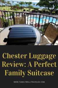 Chester Luggage Review #ChesterTravels