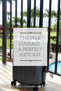 #ChesterTravels Luggage Review