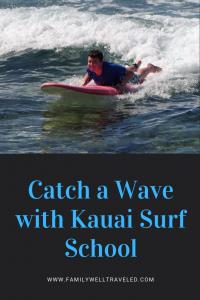 Kauai Surf School Lessons, Hawaii
