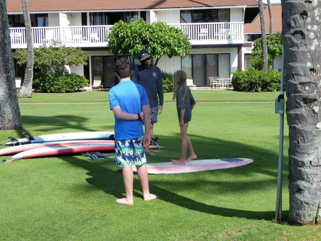 Kauai Surf School Balance