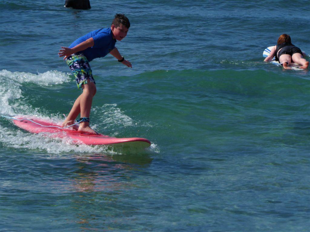 Kauai Surf School Success