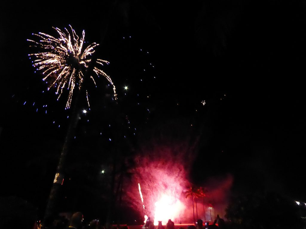 Fireworks Hilton Hawaiian Village Oahu