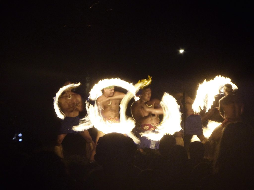 Luau Fire Dance