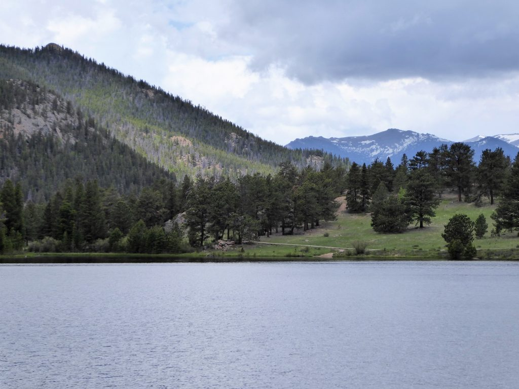 Lily Lake at Rocky Mountain National Park